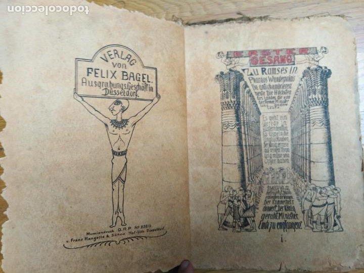 Libros antiguos: Libro antiguo Die Plagen 3te Aegytische Humoreske - Foto 3 - 198313815