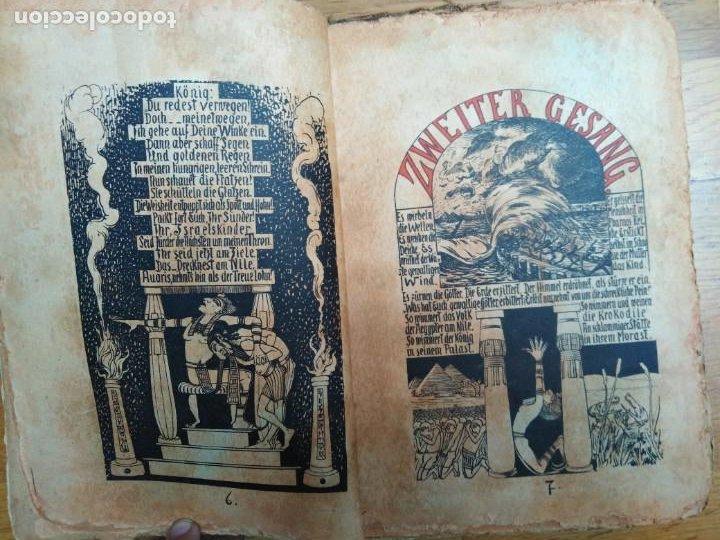 Libros antiguos: Libro antiguo Die Plagen 3te Aegytische Humoreske - Foto 4 - 198313815
