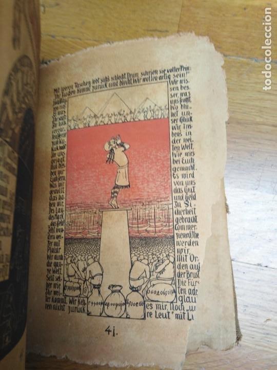 Libros antiguos: Libro antiguo Die Plagen 3te Aegytische Humoreske - Foto 5 - 198313815