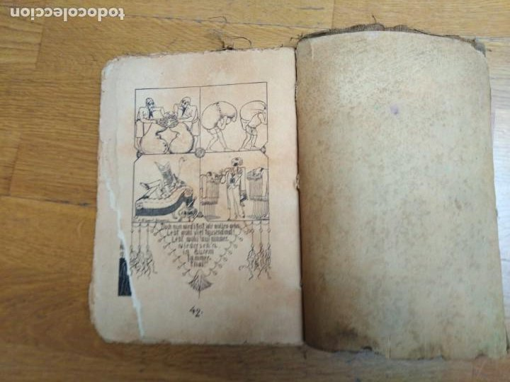 Libros antiguos: Libro antiguo Die Plagen 3te Aegytische Humoreske - Foto 6 - 198313815