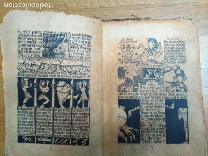 Libros antiguos: Libro antiguo Die Plagen 3te Aegytische Humoreske - Foto 8 - 198313815