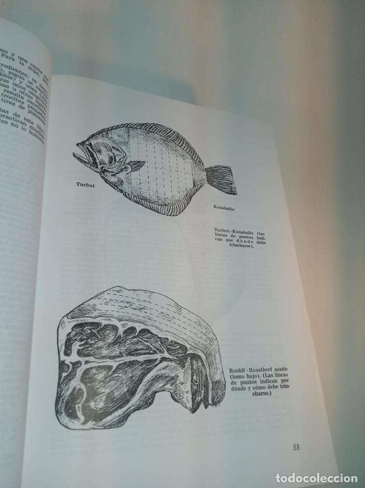 Libros antiguos: Gran libro. Nuestra cocina. José Sarrau. Prensa Española. Madrid. Firmado y dedicado.1977. - Foto 5 - 198406178