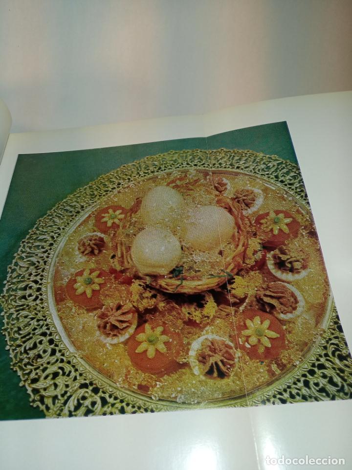 Libros antiguos: Gran libro. Nuestra cocina. José Sarrau. Prensa Española. Madrid. Firmado y dedicado.1977. - Foto 6 - 198406178