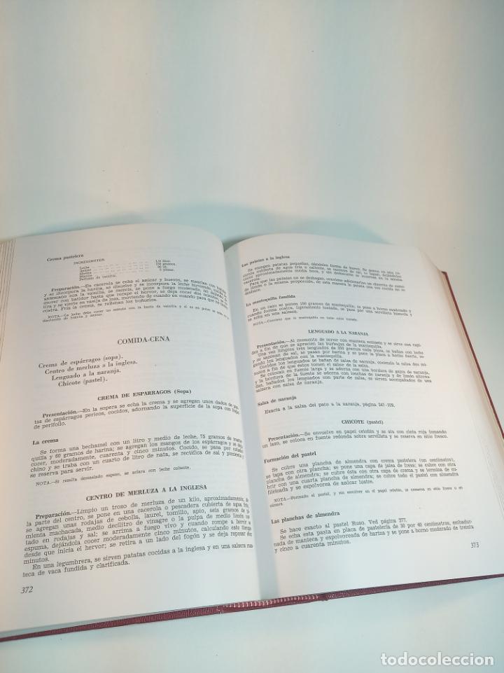 Libros antiguos: Gran libro. Nuestra cocina. José Sarrau. Prensa Española. Madrid. Firmado y dedicado.1977. - Foto 8 - 198406178