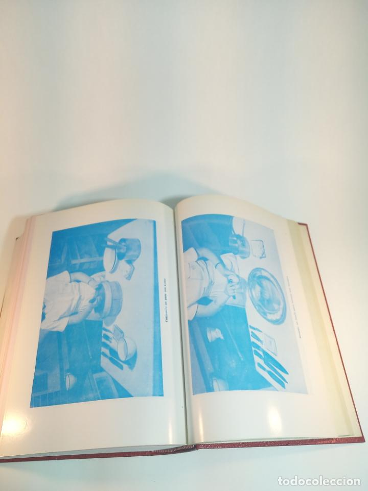 Libros antiguos: Gran libro. Nuestra cocina. José Sarrau. Prensa Española. Madrid. Firmado y dedicado.1977. - Foto 11 - 198406178