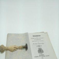 Libros antiguos: COLECCIÓN DE VOCABLOS DE DUDOSA ORTOGRAFÍA EN CASTELLANO. D. GREGORIO GARCÍA DEL POZO. MADRID. 1839.. Lote 198516692
