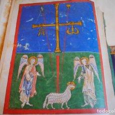 Libros antiguos: UNICO BEATO DE LIÉBANA CÓDICE SAN PEDRO DE CARDEÑA, SIGLO XII. EDITORIAL MOLEIRO.. Lote 198531637