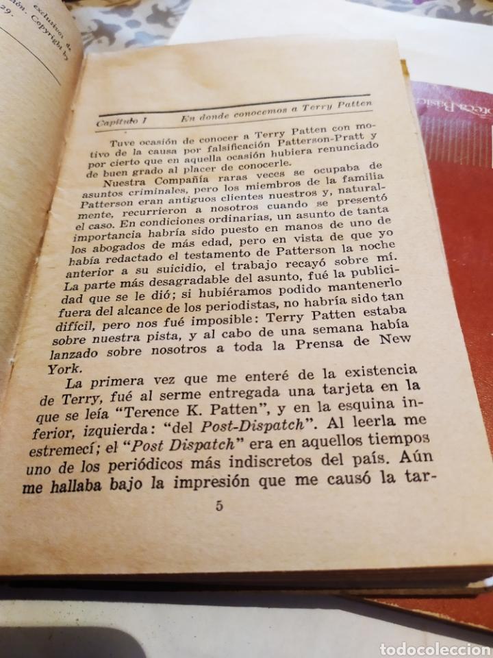 Libros antiguos: El misterio de cuatro lagunas 1°edicion ,(1929). - Foto 2 - 198560055