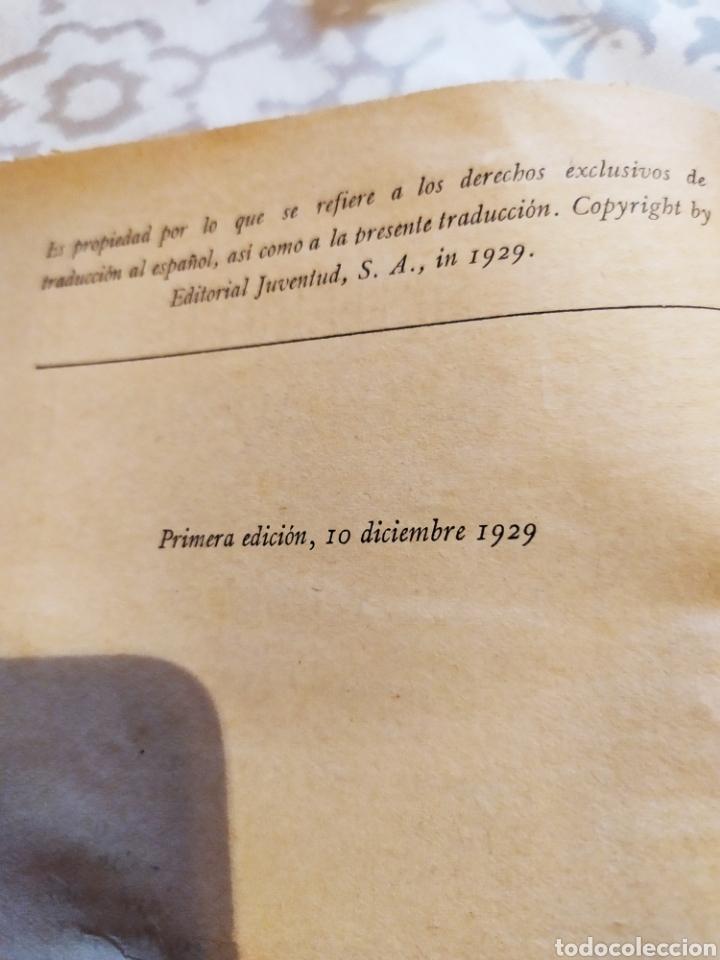 Libros antiguos: El misterio de cuatro lagunas 1°edicion ,(1929). - Foto 3 - 198560055