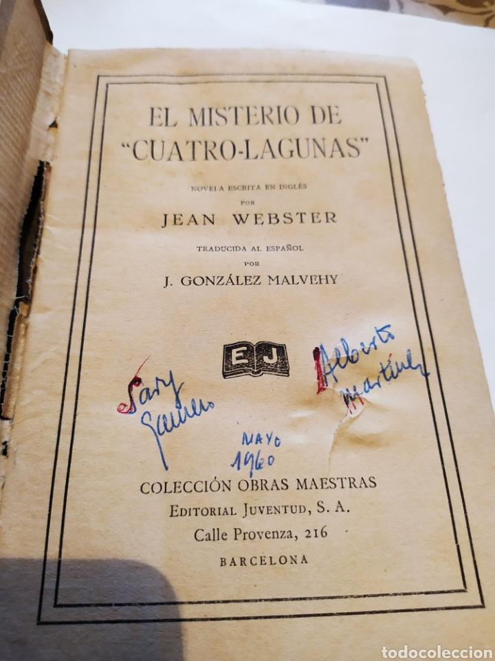 Libros antiguos: El misterio de cuatro lagunas 1°edicion ,(1929). - Foto 4 - 198560055