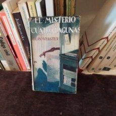 Libros antiguos: EL MISTERIO DE CUATRO LAGUNAS 1°EDICION ,(1929).. Lote 198560055