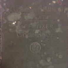 Libros antiguos: LIBRO DE COCINA SALAD APETIZER MRS EIRCSSON HAMMONDS 1924. Lote 198565102