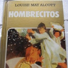 Libros antiguos: HOMBRECITOS DE LOUISE MAY ALCOTT - EDITORIAL BRUGUERA EDICIÓN 1983. Lote 198663938