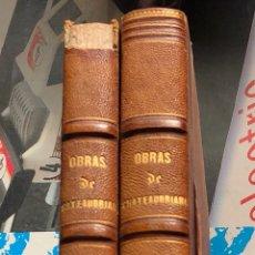 Libros antiguos: LOTE DE 2 LIBROS DE CHATEAUBRIAND, MEDIADOS DEL SIGLO XIX. Lote 198944778