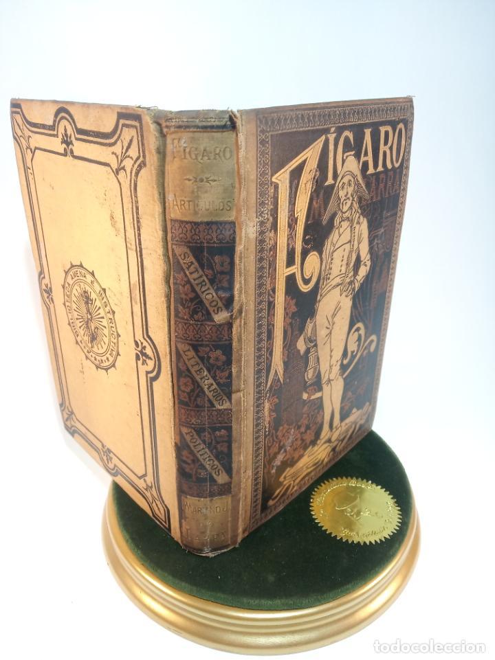 FÍGARO. COLECCIÓN DE ARTÍCULOS FILOSÓFICOS, SATÍRICOS, LITERARIOS Y POLÍTICOS. D. MARIANO JOSÉ DE LA (Libros antiguos (hasta 1936), raros y curiosos - Literatura - Narrativa - Otros)