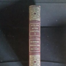 Libros antiguos: VÍCTOR HUGO OEUVRES COMPLETES X LES MISERABLES L'EPOPEE RÚE ST DENIS JEAN VALJEAN QUATRIEME PARTIE. Lote 199099932