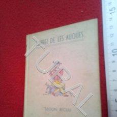 Livres anciens: TUBAL LLIBRET DE LES AUQUES SEGON RECULL U24. Lote 199193476