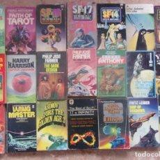 Libros antiguos: LOTE 37 NOVELAS EN INGLÉS CIENCIA FICCIÓN . Lote 199254093
