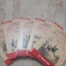Libros antiguos: EDICION DEL QUIJOTE EN CINCO VOLUMENES BIBLIOTECA EL SOL 1992. Lote 199340850