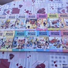 Libros antiguos: 22 PELICULAS VHS DE MORTADELO Y FILEMÓN EN PERFECTO ESTADO (SIN USO). Lote 199380388