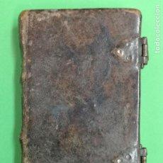 Libros antiguos: OFICIO DE N.SEÑORA LA SANTÍSIMA VIRGEN MARIA, AMBERES 1720. Lote 199478255