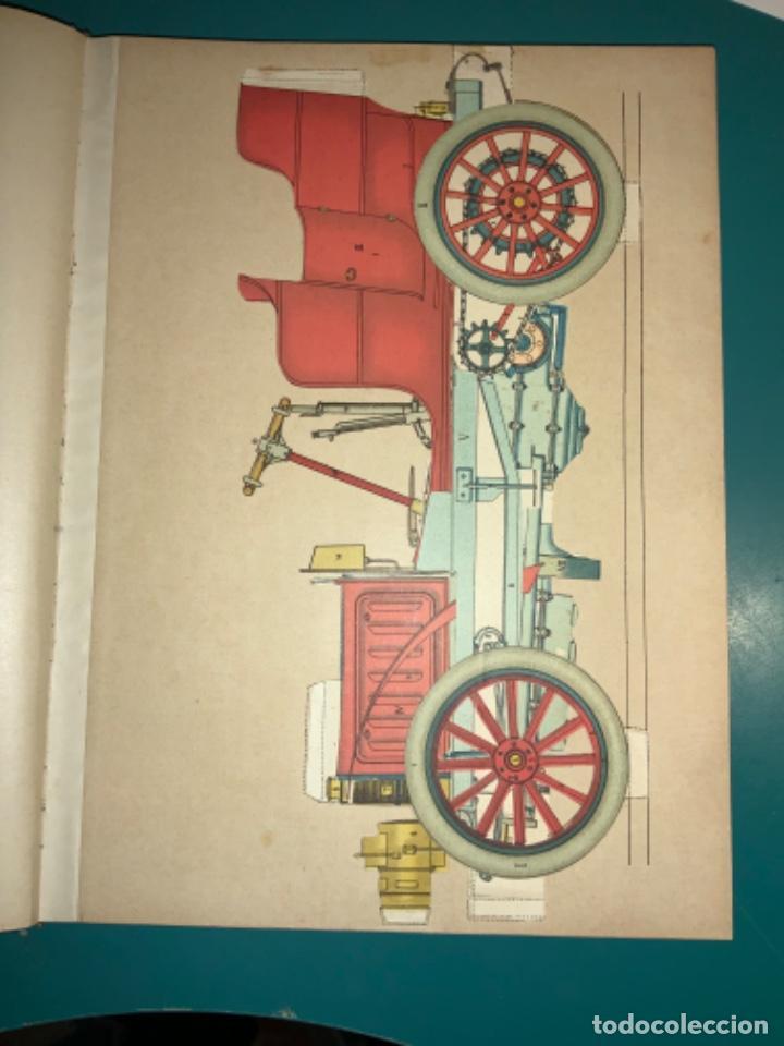 Libros antiguos: PRECIOSO LIBRO LE MECANICIEN MODERNE PRINCIPIO SIGLO XX PRIMER CAPITULO DEDICADO AL AUTOMÓVIL - Foto 6 - 199514513