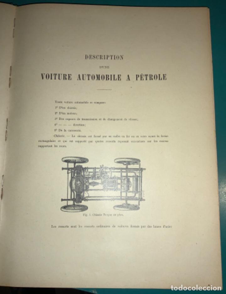 Libros antiguos: PRECIOSO LIBRO LE MECANICIEN MODERNE PRINCIPIO SIGLO XX PRIMER CAPITULO DEDICADO AL AUTOMÓVIL - Foto 8 - 199514513