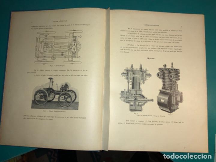 Libros antiguos: PRECIOSO LIBRO LE MECANICIEN MODERNE PRINCIPIO SIGLO XX PRIMER CAPITULO DEDICADO AL AUTOMÓVIL - Foto 9 - 199514513