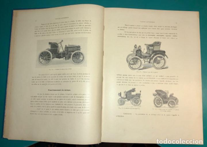 Libros antiguos: PRECIOSO LIBRO LE MECANICIEN MODERNE PRINCIPIO SIGLO XX PRIMER CAPITULO DEDICADO AL AUTOMÓVIL - Foto 10 - 199514513