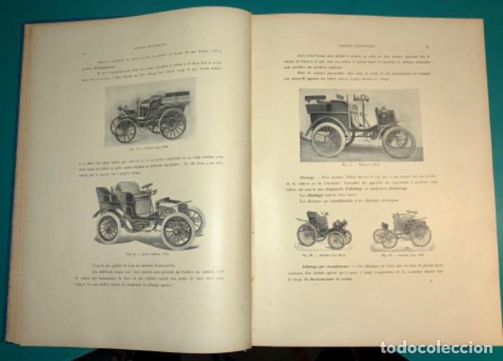 Libros antiguos: PRECIOSO LIBRO LE MECANICIEN MODERNE PRINCIPIO SIGLO XX PRIMER CAPITULO DEDICADO AL AUTOMÓVIL - Foto 11 - 199514513