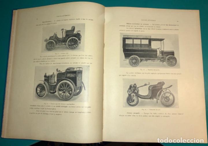 Libros antiguos: PRECIOSO LIBRO LE MECANICIEN MODERNE PRINCIPIO SIGLO XX PRIMER CAPITULO DEDICADO AL AUTOMÓVIL - Foto 12 - 199514513