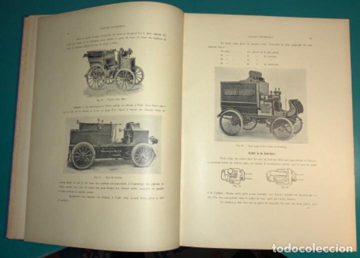 Libros antiguos: PRECIOSO LIBRO LE MECANICIEN MODERNE PRINCIPIO SIGLO XX PRIMER CAPITULO DEDICADO AL AUTOMÓVIL - Foto 14 - 199514513