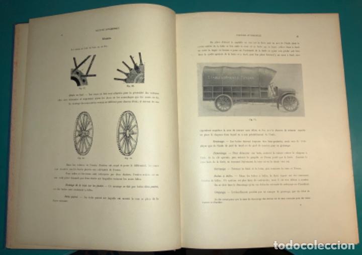 Libros antiguos: PRECIOSO LIBRO LE MECANICIEN MODERNE PRINCIPIO SIGLO XX PRIMER CAPITULO DEDICADO AL AUTOMÓVIL - Foto 15 - 199514513