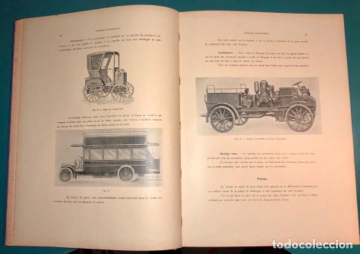 Libros antiguos: PRECIOSO LIBRO LE MECANICIEN MODERNE PRINCIPIO SIGLO XX PRIMER CAPITULO DEDICADO AL AUTOMÓVIL - Foto 16 - 199514513