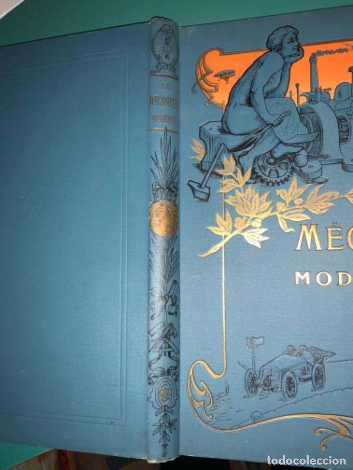 Libros antiguos: PRECIOSO LIBRO LE MECANICIEN MODERNE PRINCIPIO SIGLO XX PRIMER CAPITULO DEDICADO AL AUTOMÓVIL - Foto 42 - 199514513