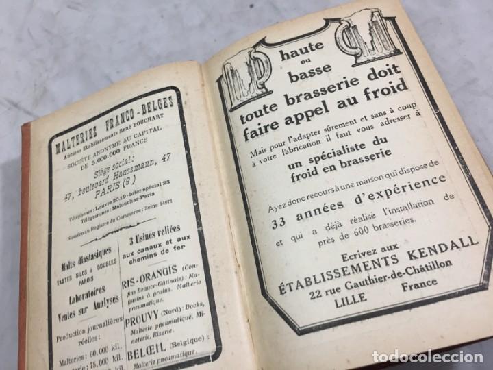 Libros antiguos: MANUEL DE BRASSERIE. PICOUX M. / WERQUIN V. LIBRAIRIE J.B. BAILLIERE & FILS 1926 Francés - Foto 4 - 199524112