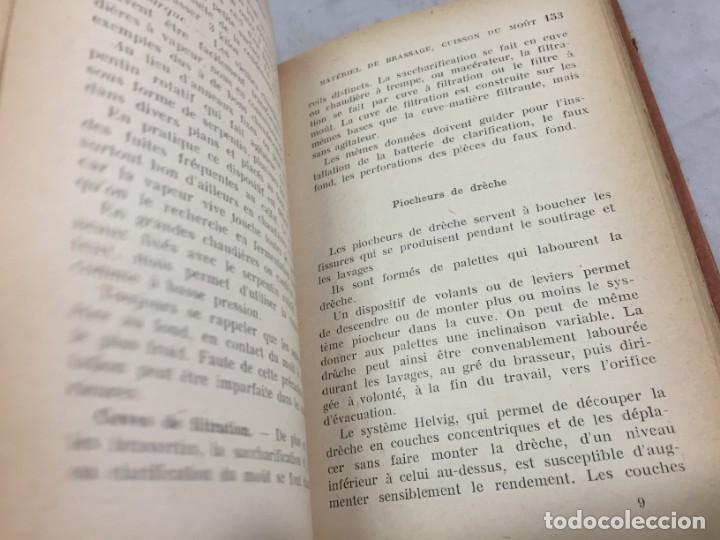 Libros antiguos: MANUEL DE BRASSERIE. PICOUX M. / WERQUIN V. LIBRAIRIE J.B. BAILLIERE & FILS 1926 Francés - Foto 6 - 199524112