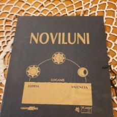 Libros antiguos: NOVILUNI: LLIGAMS LLEIDA-VALÈNCIA. POETAS ÁRABES VALENCIANOS TEXTOS E ILUSTRACIONES. Lote 199527903