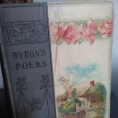 Libros antiguos: THE POETICAL WORKS OF LORD BYRON. Lote 199693222