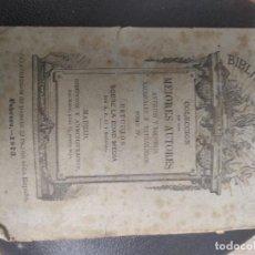 Libros antiguos: BIBLIOTECA UNIVERSAL COLECCIÓN DE LOS MEJORES AUTORES 1873. Lote 199728651