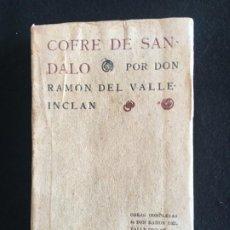 Libros antiguos: RAMÓN DEL VALLE-INCLÁN. COFRE DE SÁNDALO. LIBRERÍA DE PUEYO. MADRID, 1909. 1ª EDICIÓN.. Lote 199749337
