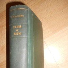 Libros antiguos: JOSE M. DE PEREDA - OBRAS COMPLETAS TOMO XIV - NUBES DE ESTIO - 1904. Lote 199754882