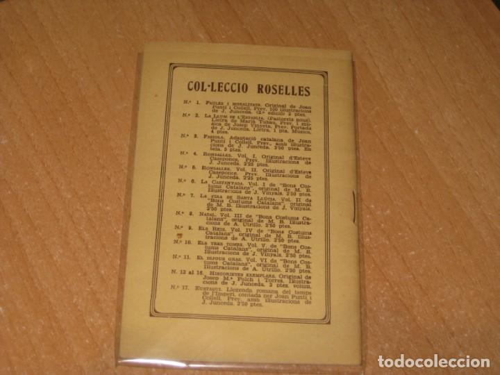 Libros antiguos: RONDALLES CATALANES EL METGE CARBONER - Foto 2 - 199854220