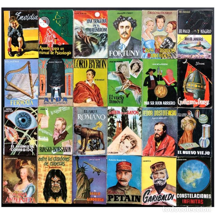ENCICLOPEDIA PULGA AÑOS 50, 46 VOLUMENES. MUY BUEN ESTADO. (Libros Antiguos, Raros y Curiosos - Literatura Infantil y Juvenil - Otros)