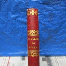Libros antiguos: LA GUERRA DEL NIZAM - JOSEPH MÈRY. AÑO 1873. Lote 199894345