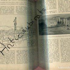 Libros antiguos: REVISTA AÑ 1918 SEÑORES DE GUIMERA PASTERAL BIBLIOTECA OLOT CAU FERRAT PRAT DE LA RIBA CASTELLTERSOL. Lote 199910630