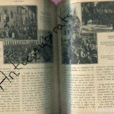 Libros antiguos: REVISTA ANY 1918 CATALANISME DIADA 11 SETEMBRE DE 1714 CASTELLTERSOL CASANOVA TREN LES PLANES RUBI . Lote 199911051