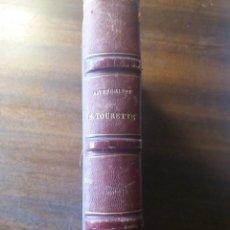 Livros antigos: TRACÉ DES CHEMINS DE FER 1858/1927. Lote 200004030