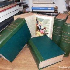 Libros antiguos: JUAN MANUEL LUJÁN. EL FAMOSO BANDIDO JEREZANO .5 TOMOS . ADOLFO DE MADRID . 1929 . UNA JOYA!!. Lote 200072745