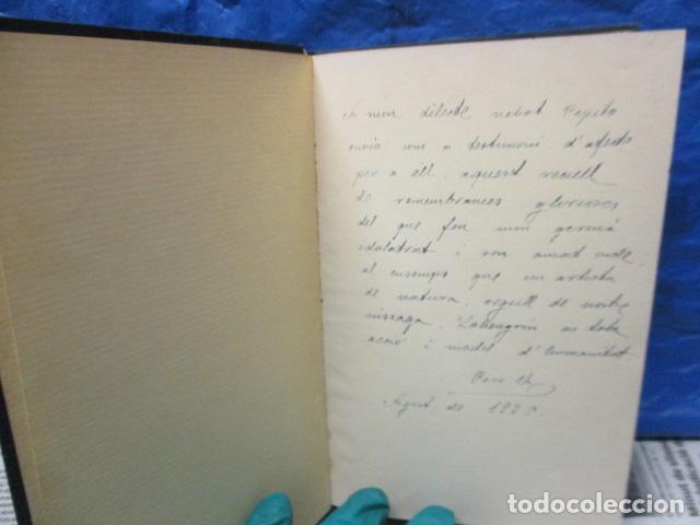Libros antiguos: EL TENOR, POR FRANCESC VIÑAS. - Lleva una dedicatoria y firmada por Pere V. / ejemplar nº 54. - Foto 4 - 200088528